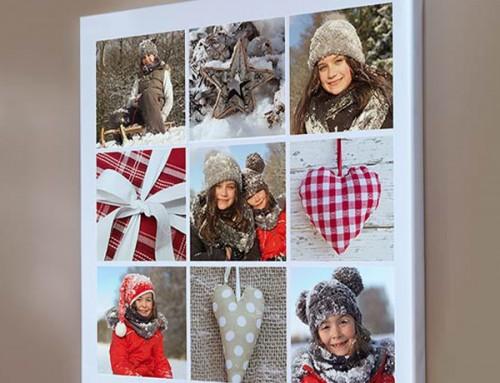 Коледен фотоколаж