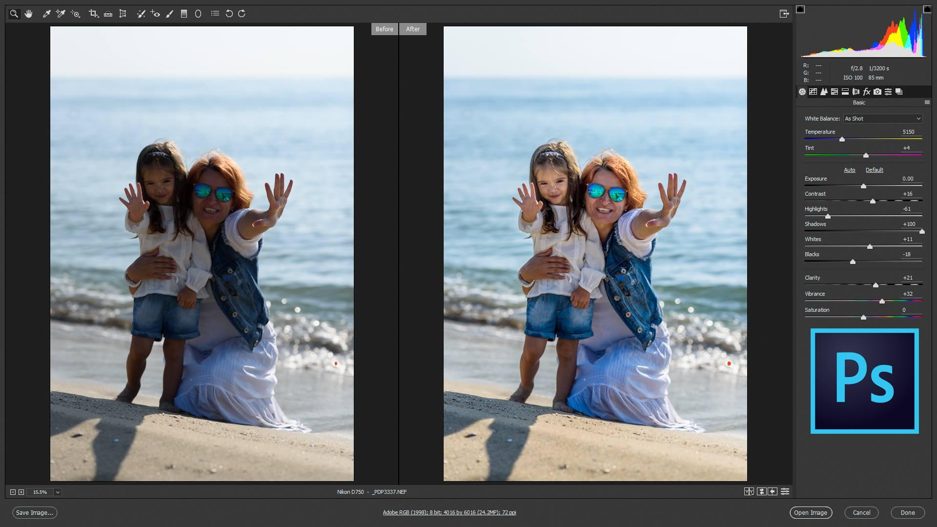 Adobe Photoshop за фотографи