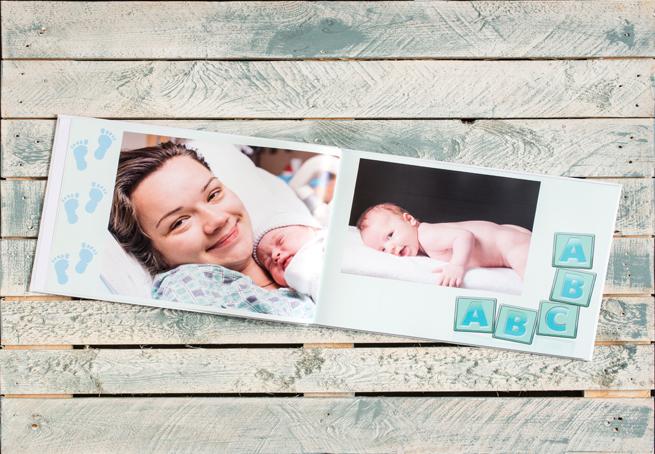 Бебешки фотокнига – Първата година на детето