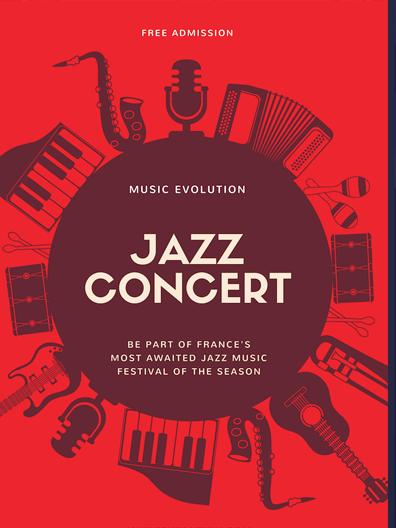 плакат за събития