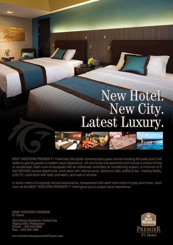 плакат за откриване на хотели