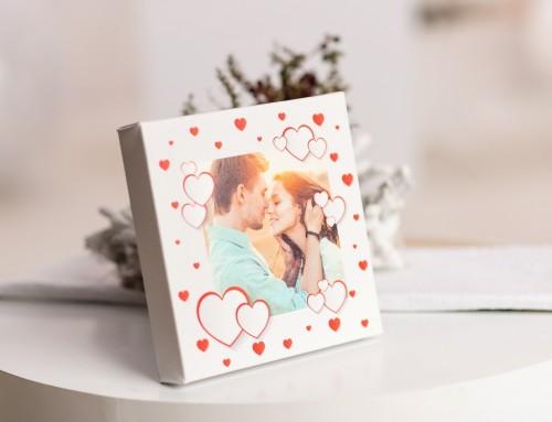 Перфектният подарък за Свети Валентин – канава със снимкa