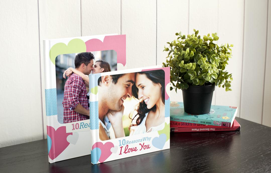 ФОТОКНИГА романтичен подарък за Свети Валентин