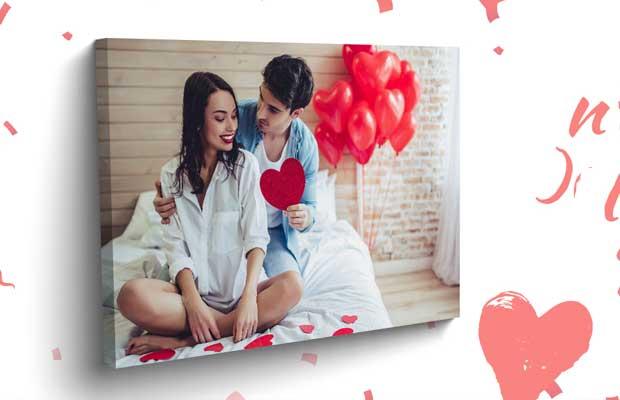 Канава за стена за Свети Валентин
