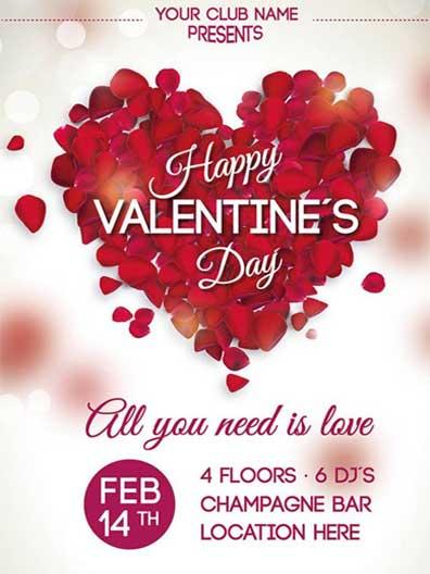 Плакати за Свети Валентин