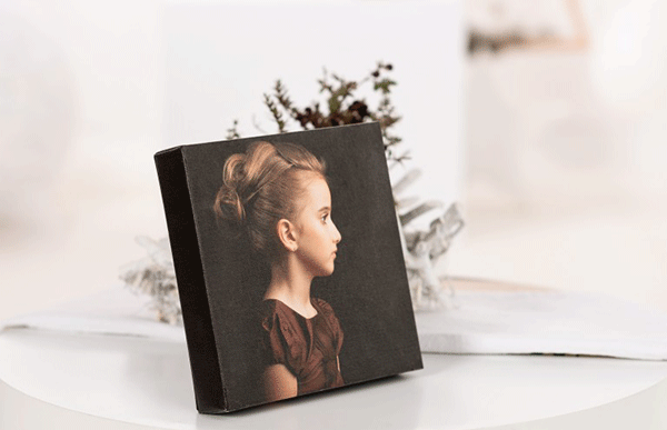 Канава за бюро – снимка отпечатана върху платно