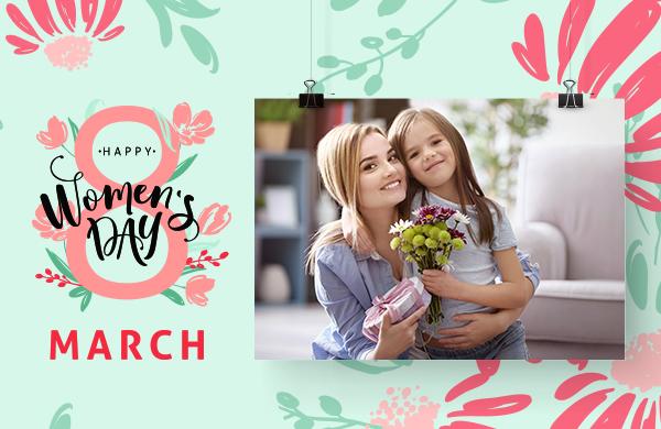 Колаж за деня на майката