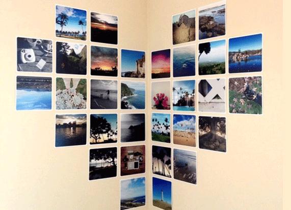 снимки на стената