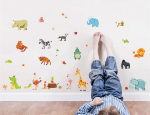 6 нестандартни идеи за декорация за детска стая: Как да украсите стената в стаята на детето?