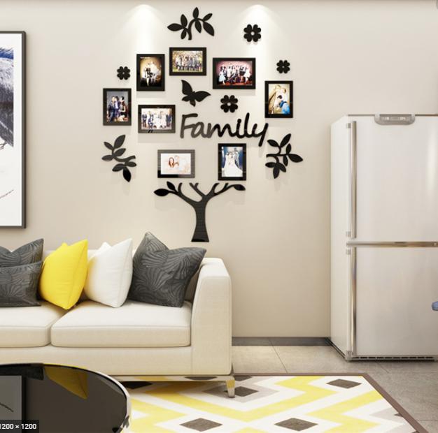 декорация за стена със стикери