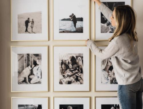 Оригинални идеи за декорация на дома: как да направим семейните снимки част от интериора?